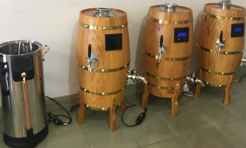 Morocco high quality all-in-one home beer brewing equipment of stainless steel  from China factory supplier W1