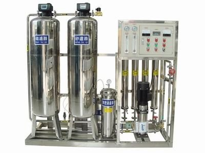 Tanzania professional  single reverse osmosis permeable filtration system of SUS304 from China manufacturer W1