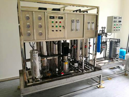 Peru professional single reverse osmosis permeable filtration system of stainless steel from China factory W1