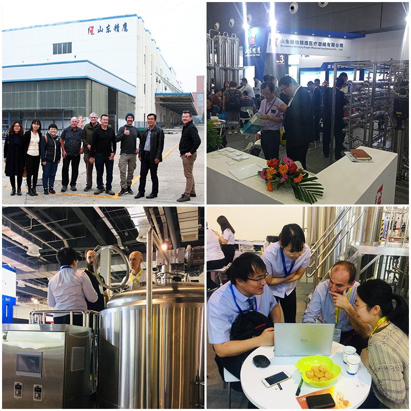 Small scale beer brewing equipment for sale China manufacturer