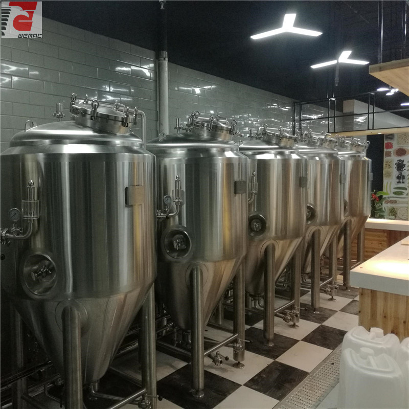 Small beer brewing systems and small brewery equipment for sale China factory