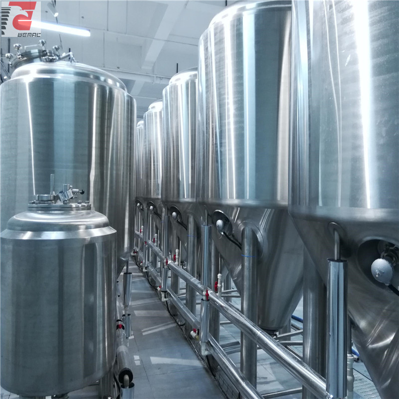 SUS304 2000L complete beer making equipment export to South Korea Chinese supplier ZZ