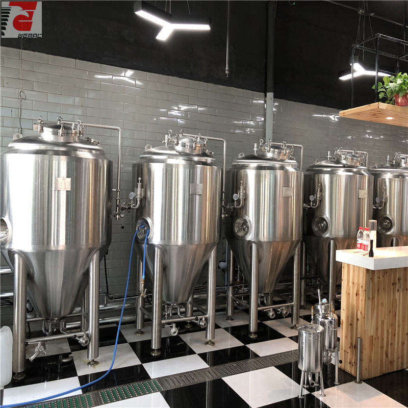 Stainless steel beer fermenter for sale WEMAC H007