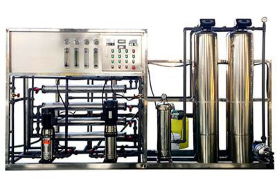 Peru auto double reverse osmosis permeable filtration system of SUS304 from China manufacturer W1