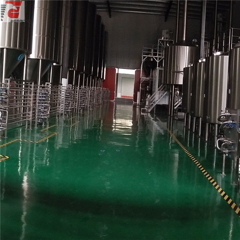 Turnkey beer brewing system and turnkey brewery equipment for sale Chinese supplier