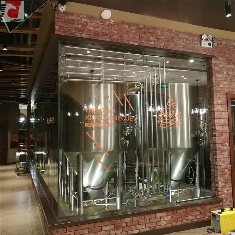 Turnkey beer brewing system Chinese supplier
