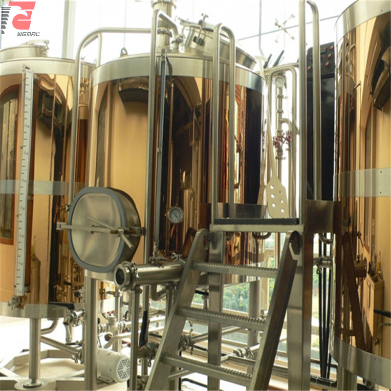 Mini brewery plant and turnkey microbrewery equipment for sale China factory