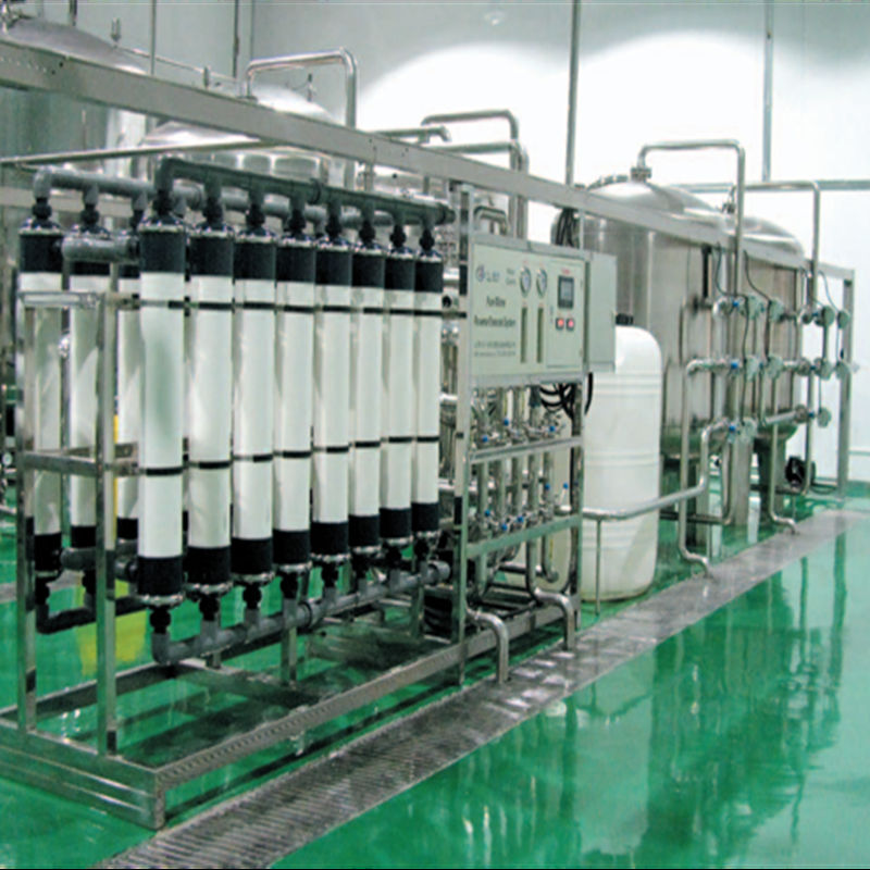 Purified water system ultrafiltration water purification equipment from Chinese factory widely used in food and drinking industry ZZ