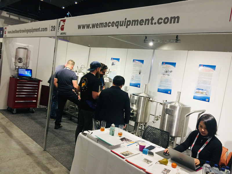 WEMAC beer equipment team attended Melbourne BrewCon2019 Trade Expo. in Australia.
