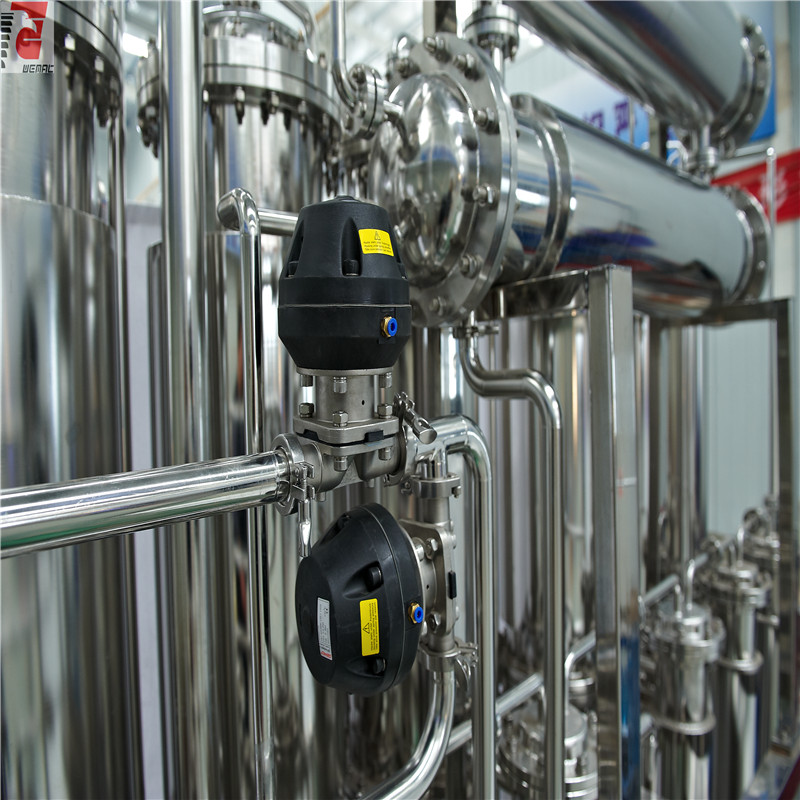 Pharma use energy saving multi column distillation plant for sale China WEMAC S0013