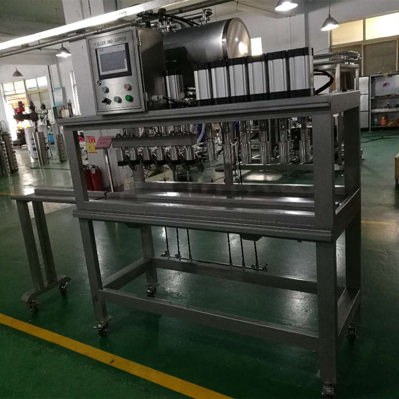 WEMAC Craft Beer Filler And Capper Machine fillling &capping system from China