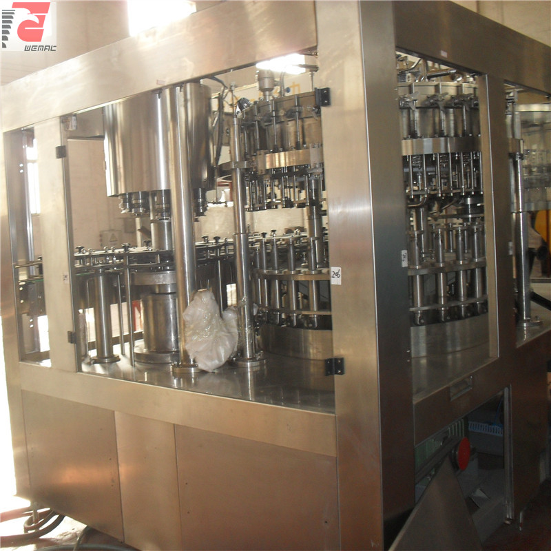 Customized beer bottle filling equipment for sale WEMAC H013