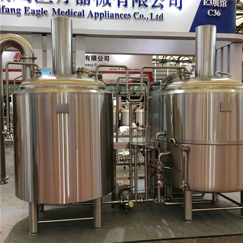 Venezuela complete commercial beer brewing equipment of sus304 Chinese supplier 2020 W1