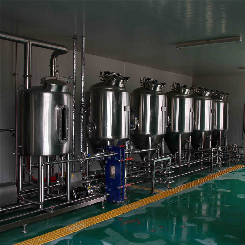 300L 4vessels brewery equipment in Jiangnan University Brewing Laboratory WEMAC Y023