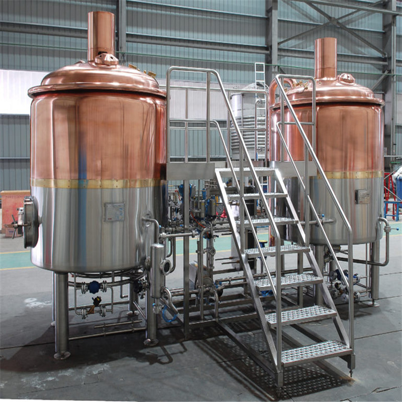 China beer factory equipment beer plant machinery WEMAC Y069