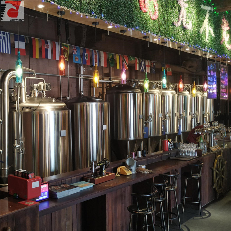 500L Restaurant use high quality beer brewing equipment from Chinese factory ZZ
