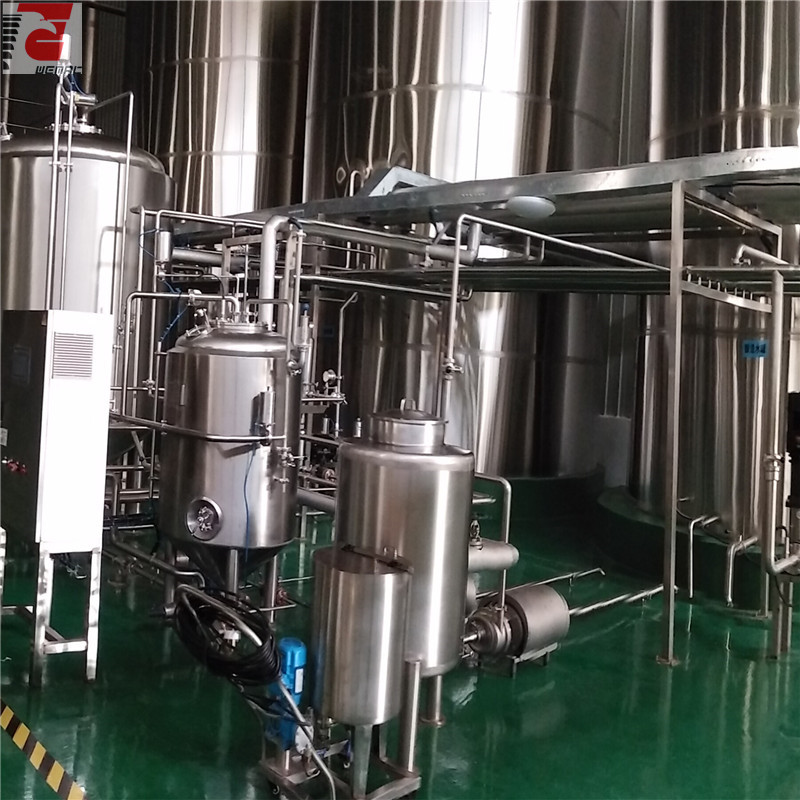Turnkey beer brewing system for sale complete brewery equipment WEMAC H027