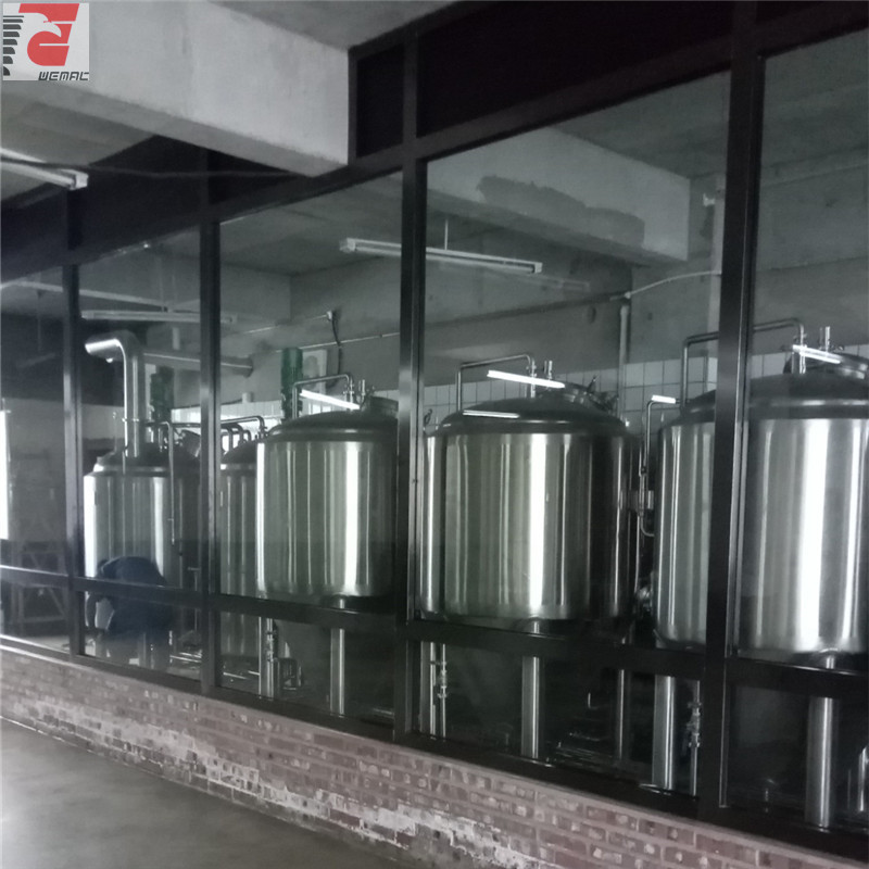 China complete beer brewing system for sale