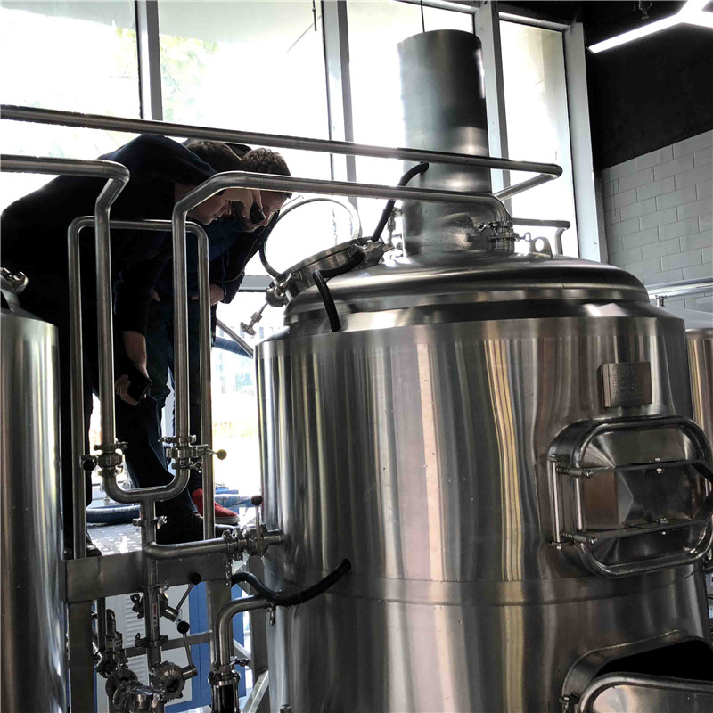 500L Turnkey brewery equipment  for sale china factory sale in France WEMAC G070