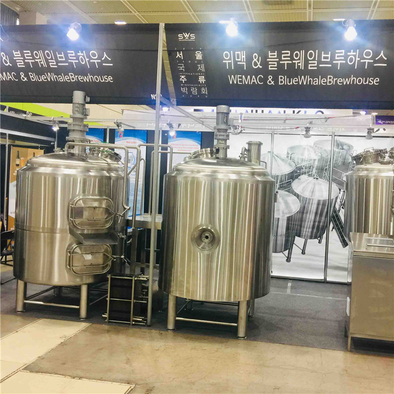 500L turnkey brewery equipment for sale in Europe WEMAC G052