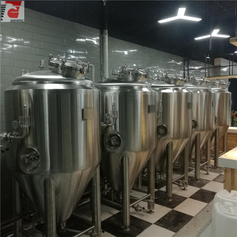 All size SUS304 craft beer brewing Jacketeed fermenters from WEMAC ZZ