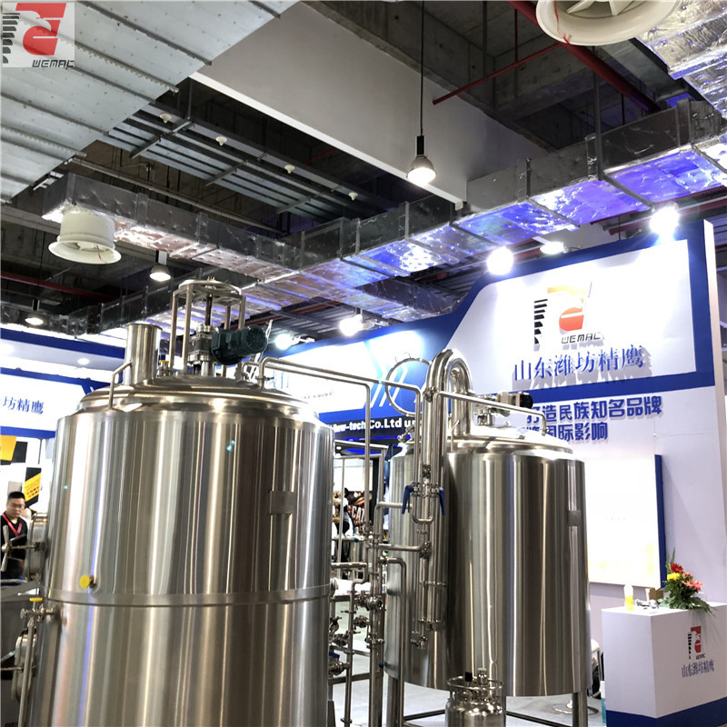 1000L-2000L craft beer making equipment for sale WEMAC H021