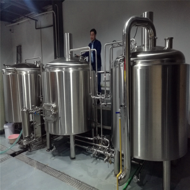 Commercial beer brewing systems commercial beer making equipment WEMAC Y030
