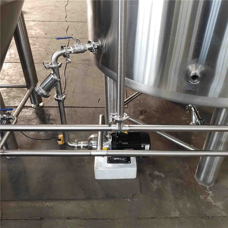 500L  brewhouse and mash system for sale in Korea  WEMAC  G060