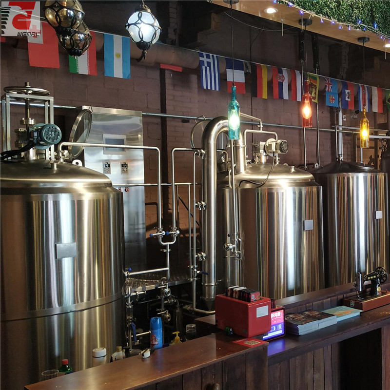 Craft brewing systems and craft beer system for sale professional manufacturer