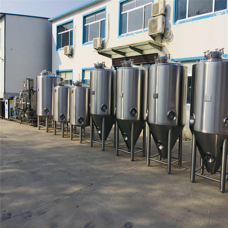 China stainless steel fermentation vessel conical beer fermenter WEMAC Y066