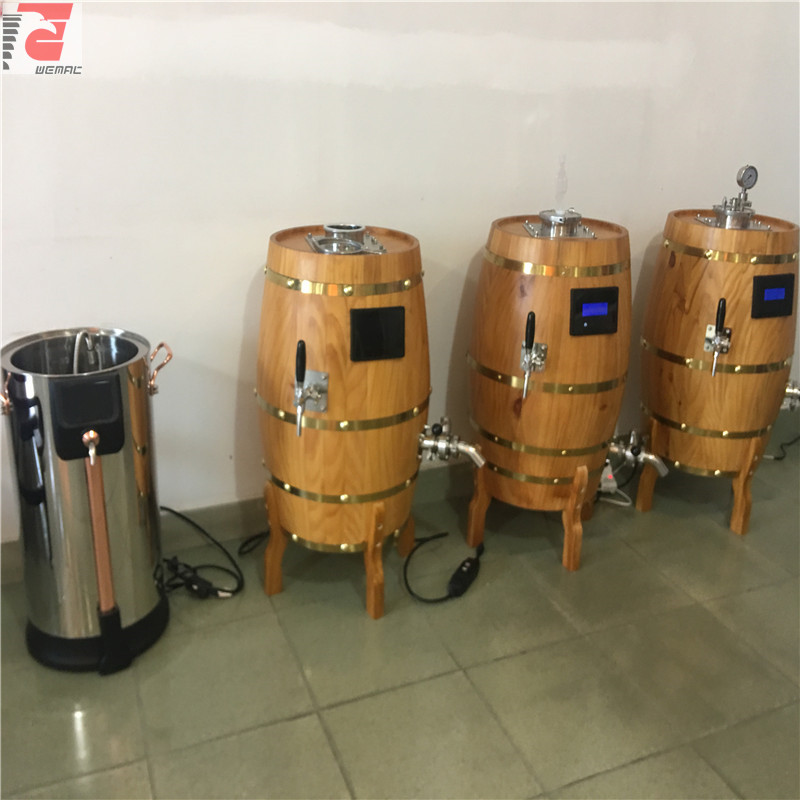 USA top quality  all-in-one home beer brewing equipment of SUS304 316 from China  manufactures W1