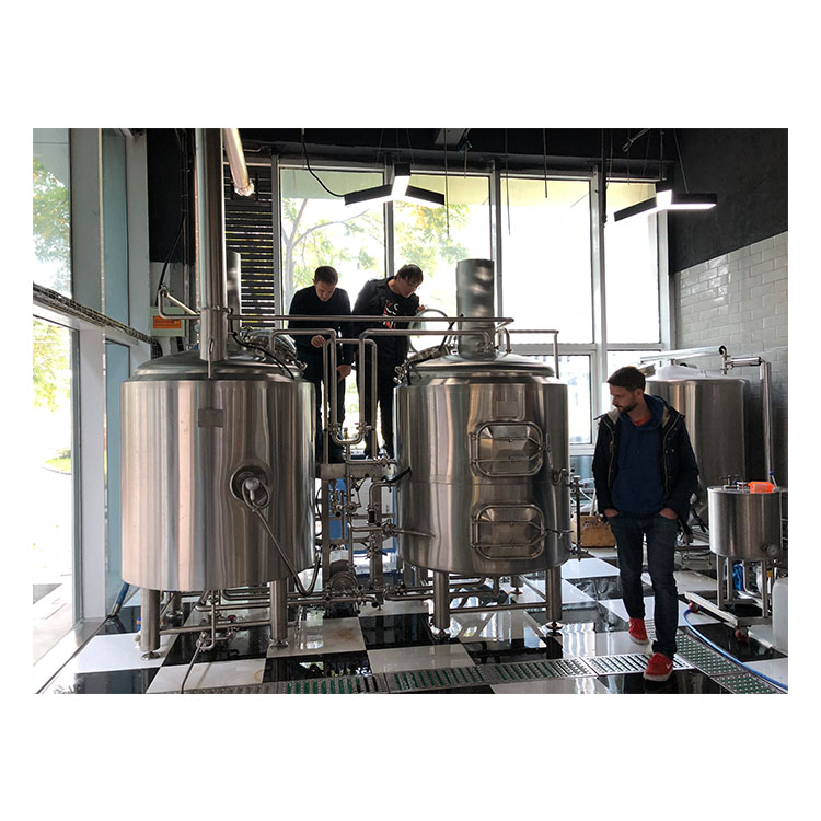 500L two-vessels craft beer brewing equipment.jpg