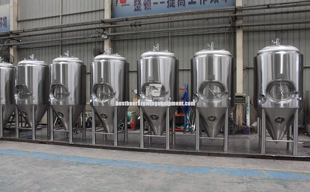 1000L Beer brewing fermenters with jacket.png