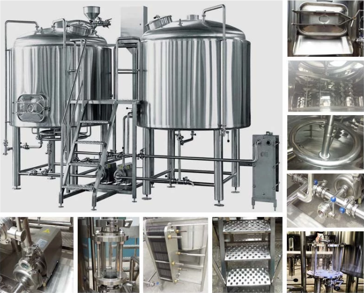 hotel-beer making-brewery machine-system-stainless steel-heat exchanger-fermenter-jacketed fermentation tank.png