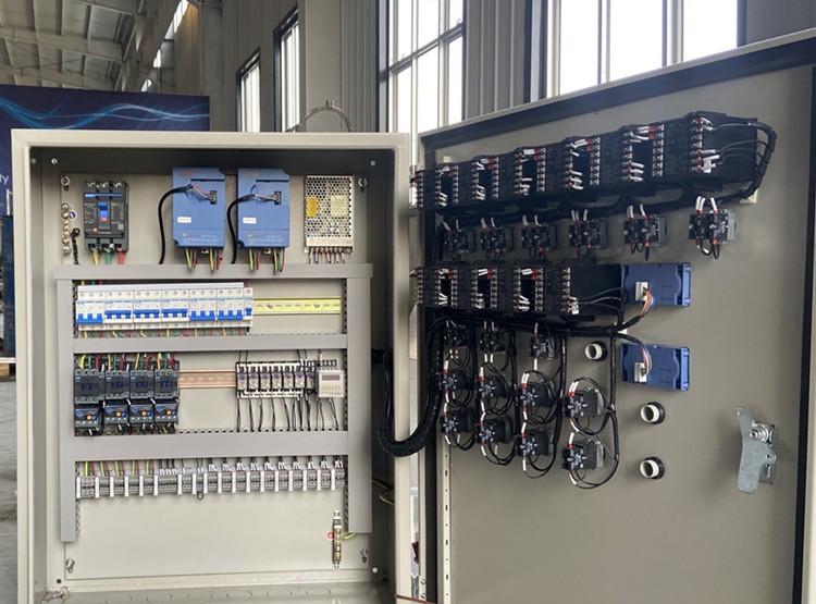 PLC control cabinet-beer brewery control.jpg