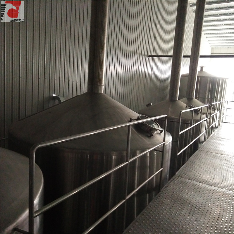 Large volume industrial beer brewing equipment for sale WEMAC H008