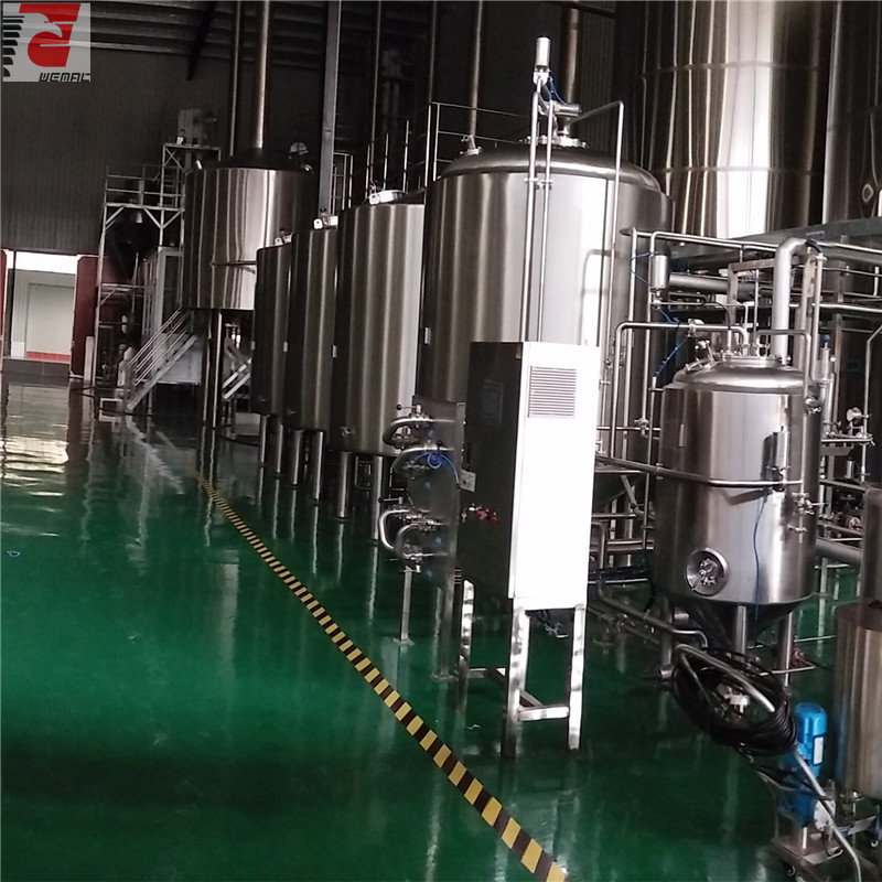 Large scale beer brewing equipment for sale China factory supplier