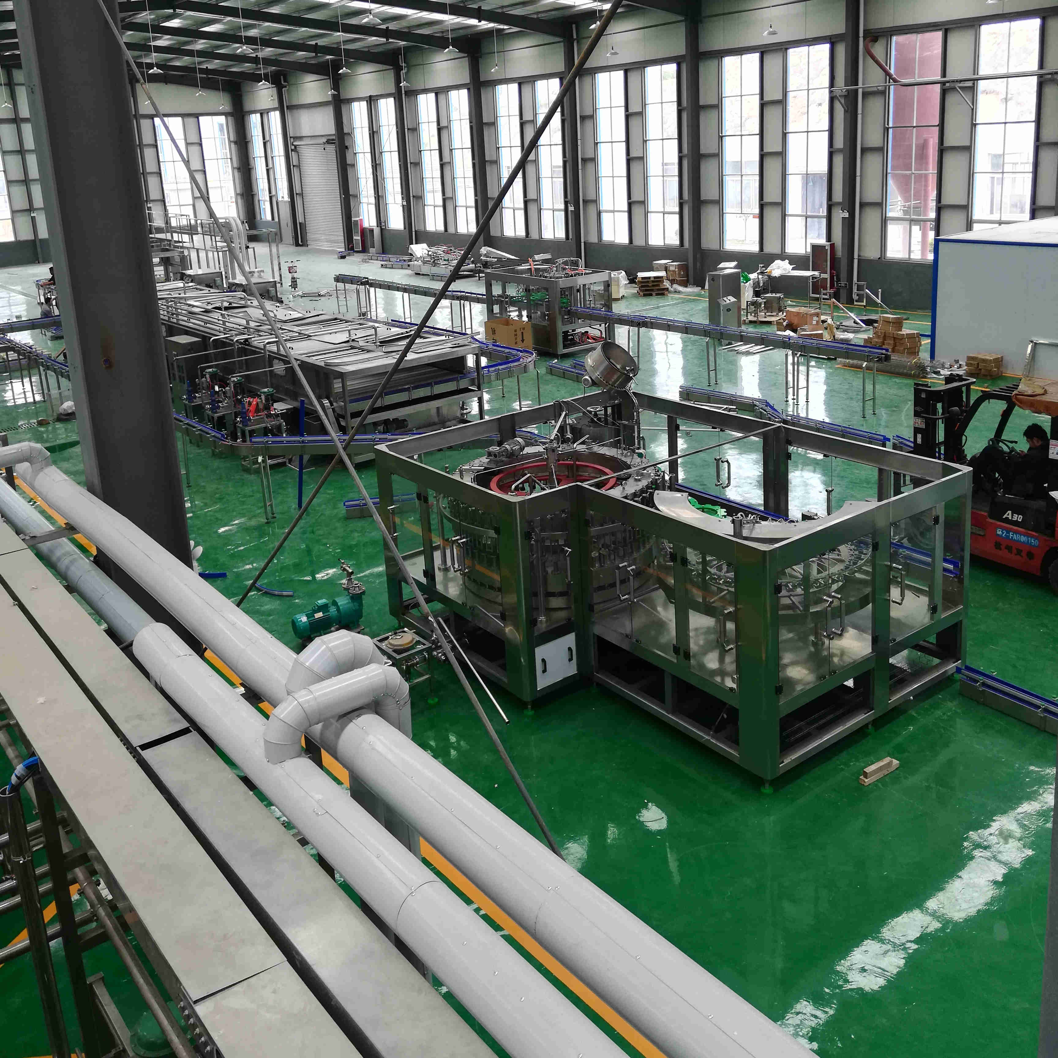 Professional turnkey beer brewery equipment manufacturer widely acceped by beer factory--WEMAC