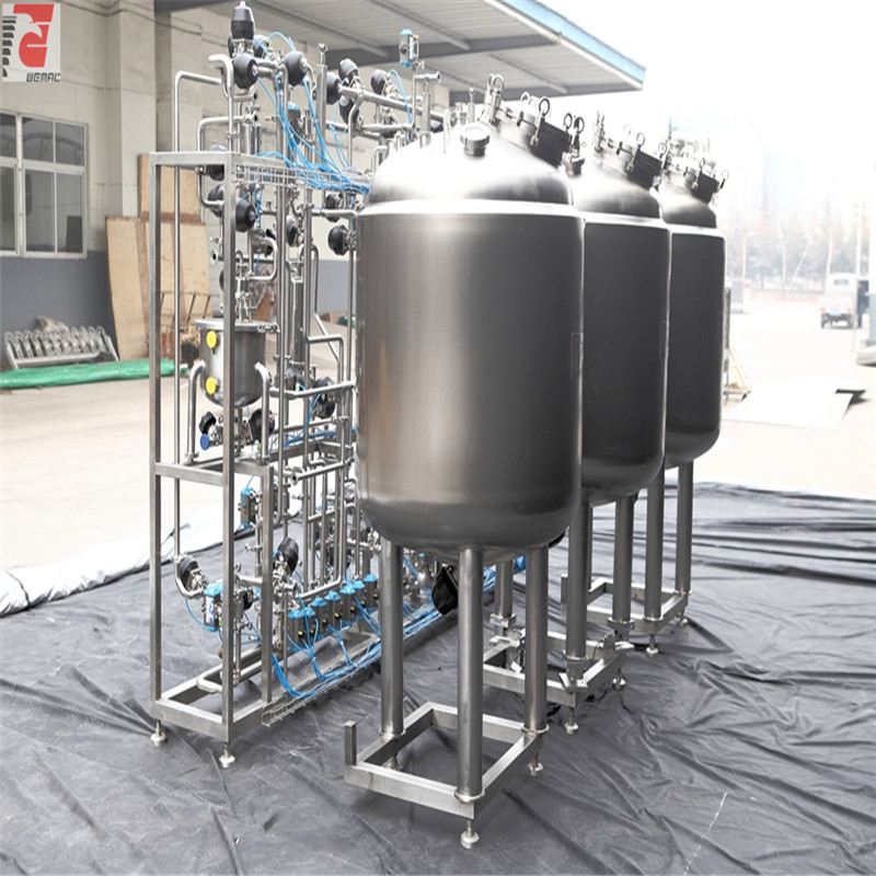 Pharma solution preparation system liquid mixing equipment WEMAC S018
