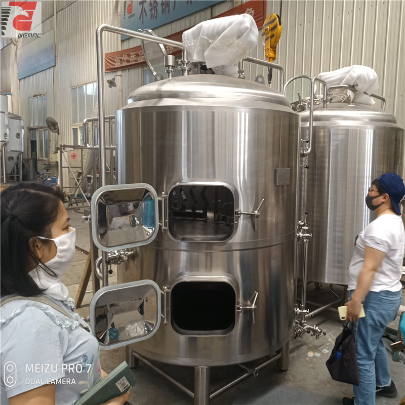 Mash system and brewhouse equipment for sale WEMAC H010