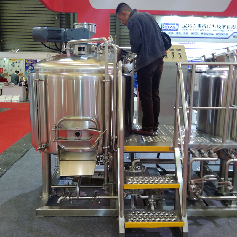 WEMAC complete 500L craft beer brewing mash system-what we need for making beer