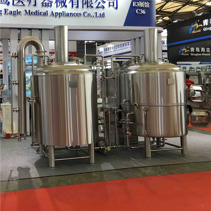 Top quality 500L micro brewing systems for sale in France WEMAC G078