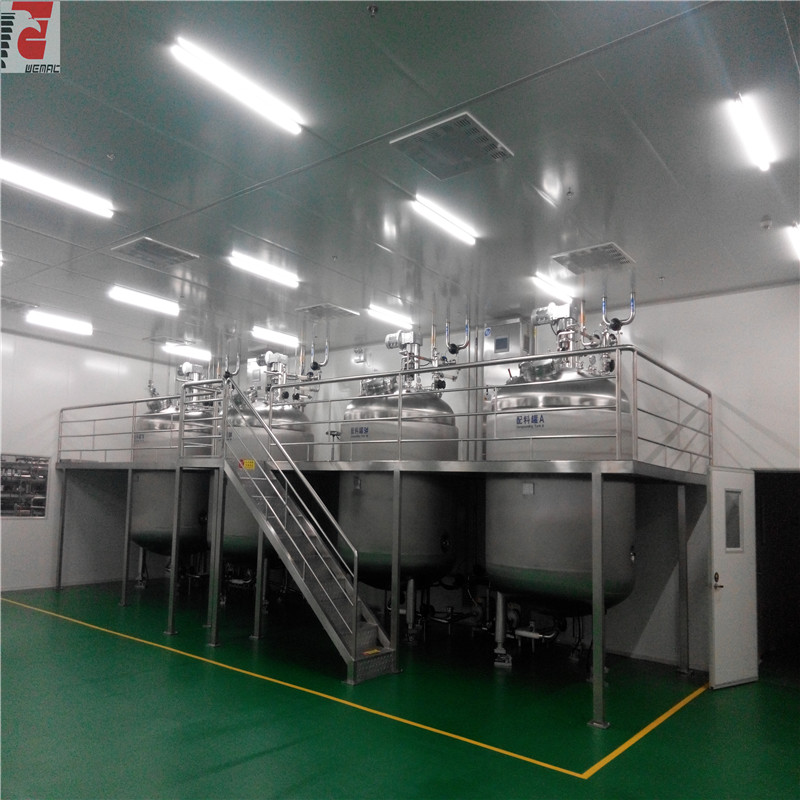 Sugar syrup liquid solution preparation tank for s...
