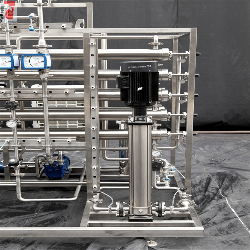 Pharmaceutical use 500L/H purified water system with reverse osmosis unit WEMAC S002