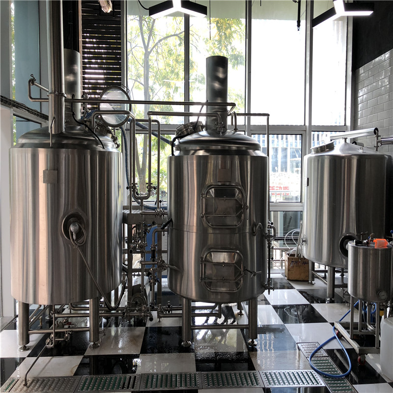 China complete brewery equipment for sale WEMAC Y075