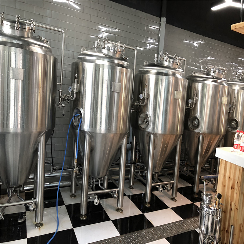 500L Small scale beer brewing equipment beer brewing system WEMAC Y011