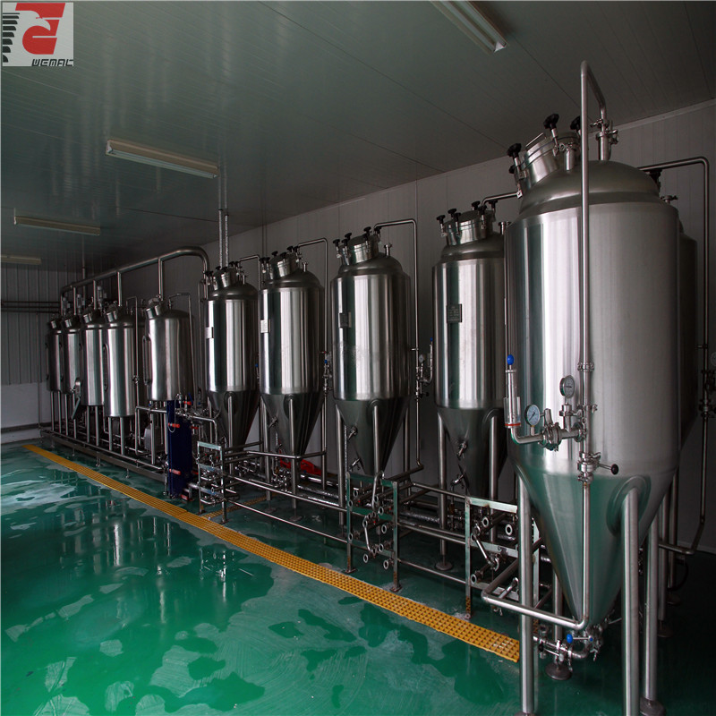 Professional beer brewing equipment for sale WEMAC H002