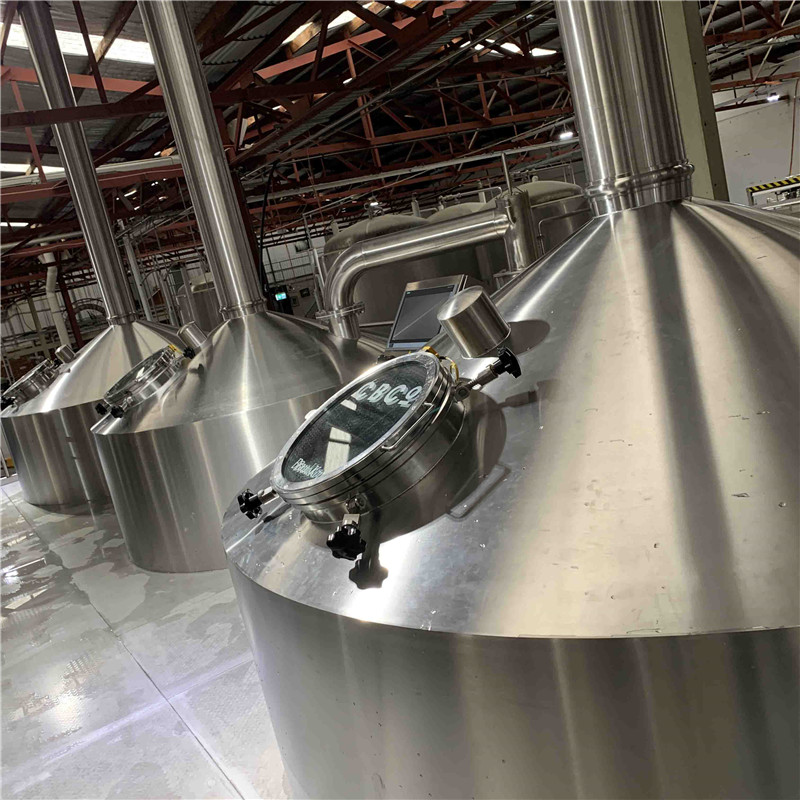 5000L  breewhouse commercial beer brewing equipment for sale WEMAC G045