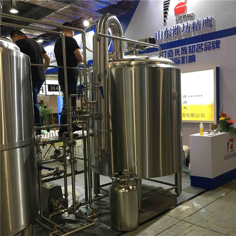 1000L turnkey brewery equipment for sale in Canada...