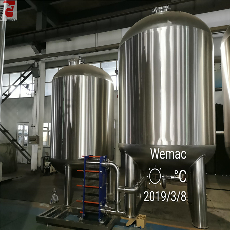 Pharma solution store stainless steel purified water tank for sale WEMAC S007